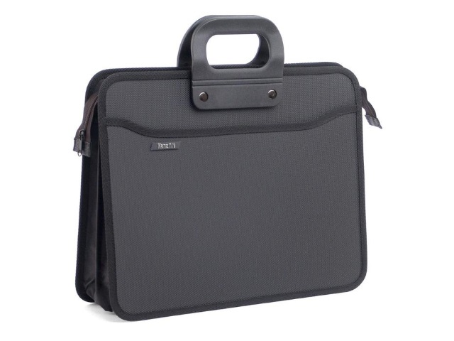Портфель А4  4 отделения пластик цветной на молнии Kanzfile 207580/207583 РРB-17