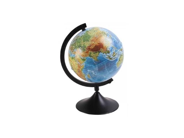 Глобус физический D 210 мм К012100007