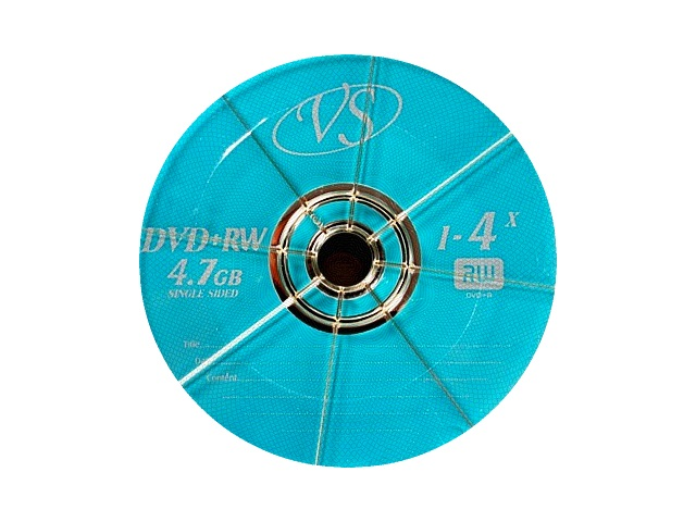 Диск DVD-RW VS  50шт 4.7Gb 4х