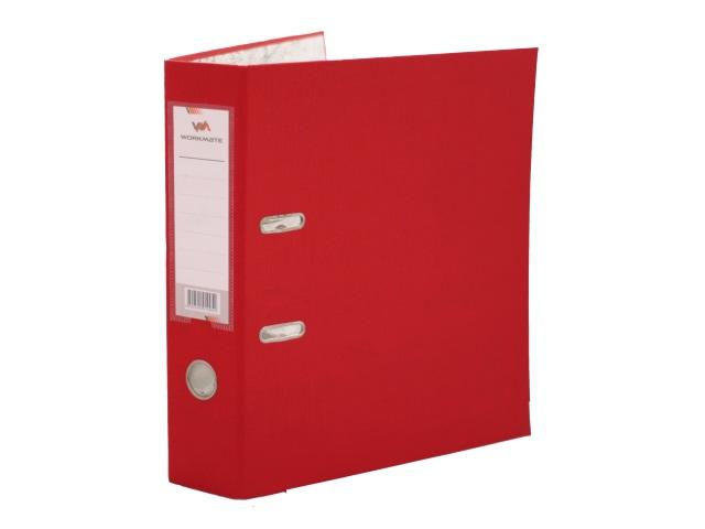 Регистратор  А4/80 WM красный с металлической окантовкой 059001005