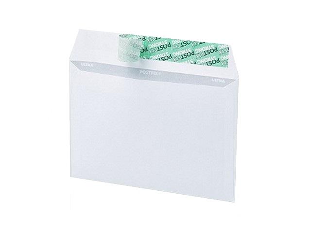 Конверт С6 СК (стрип) 11.4*16.2 см белый с отрывной лентой Эмика 2000