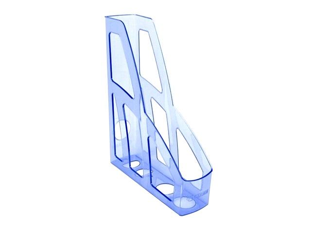 Лоток вертикальный  7см Стамм Лидер голубой тонированный ЛТ125