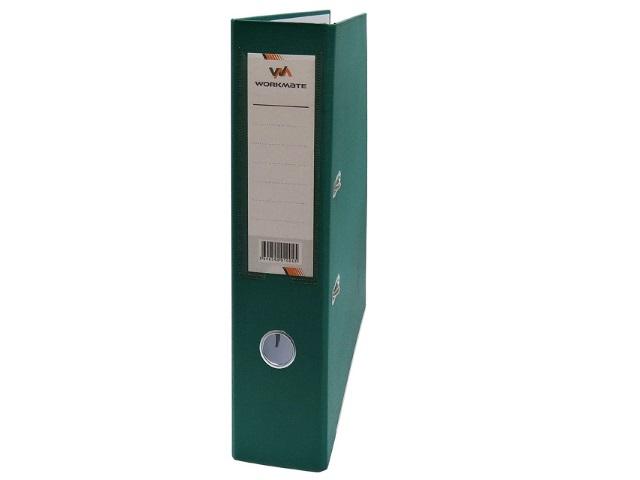 Регистратор  А4/80 WM зеленый с металлической окантовкой 059001004
