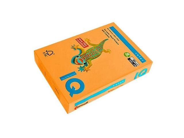 Бумага А4  80 г/м2 500 л. IQ Color неон оранжевый NEOOR 155900
