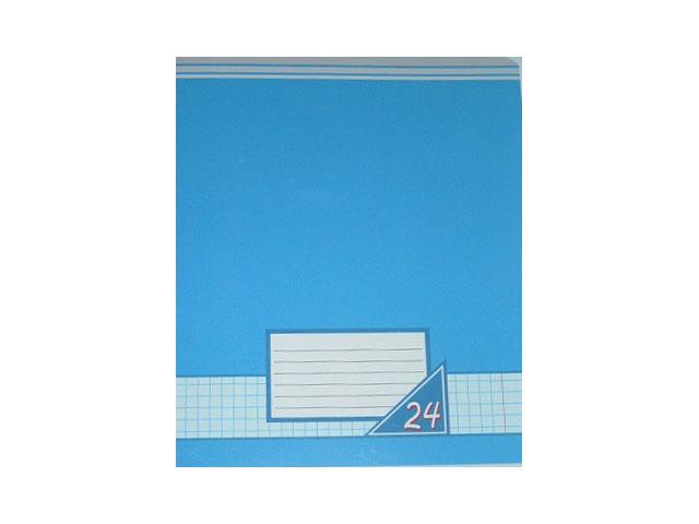 Тетрадь 24л клетка Цветные фоны Академия Групп EAC-7117-5