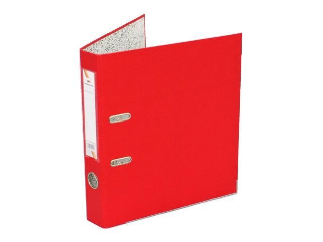 Регистратор  А4/50 WM красный с металлической окантовкой 059000905