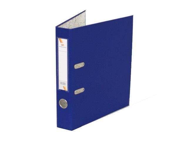 Регистратор  А4/50 WM синий с металлической окантовкой 059000902