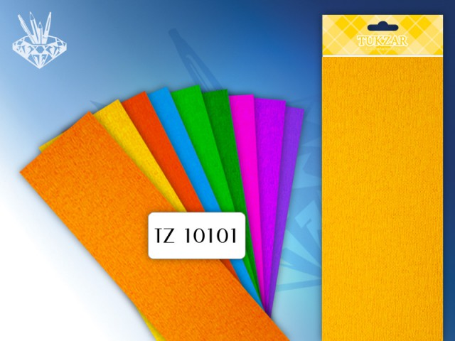 Гофробумага Tukzar желтая 50*250 см TZ 10101