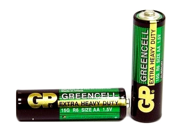 Батарейка R06 1.5V солевая Greencell, GP