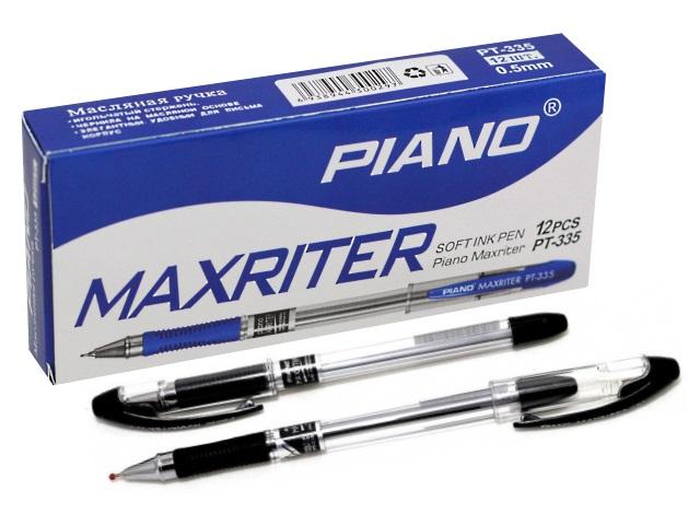 Ручка масляная Piano Maxriter PT-335 черная 0.5мм