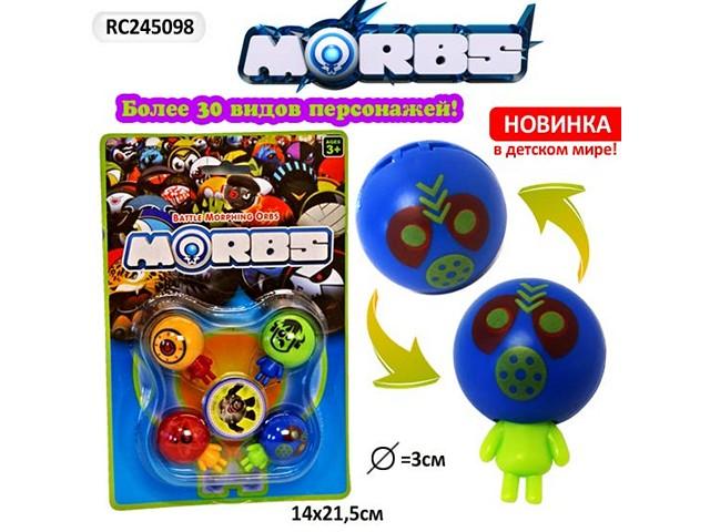 Набор игровой Морбс Боевые головы 14*21см RC245098
