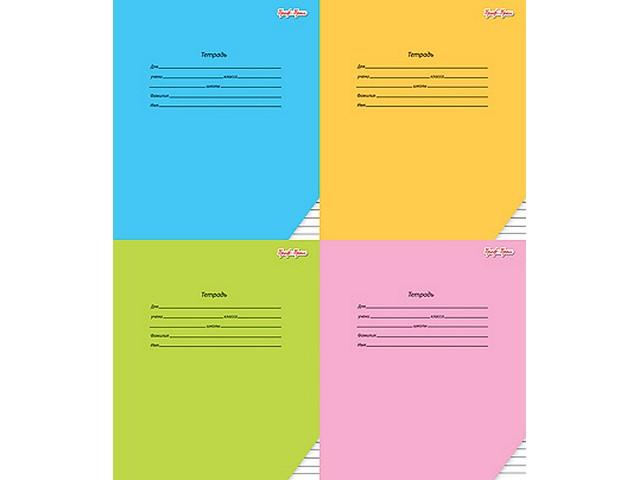 Тетрадь в линию 24 листа Классика, Prof Press 24061-24065