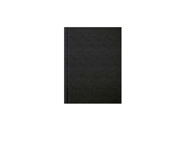 Ежедневник А5 бумвинил 136л чёрный Prof Press 136БВ-5293