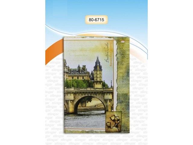 Книга канцелярская  80л Живописный город Prof Press 80-6715