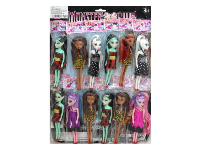 Кукла Monster Club 15см 738