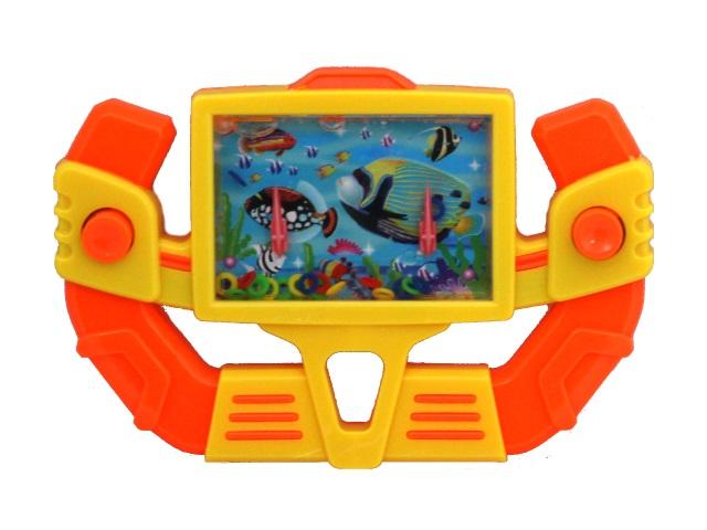 Игра водная с кольцами Рыжий кот Руль гоночной машины 15*10см Y9447122