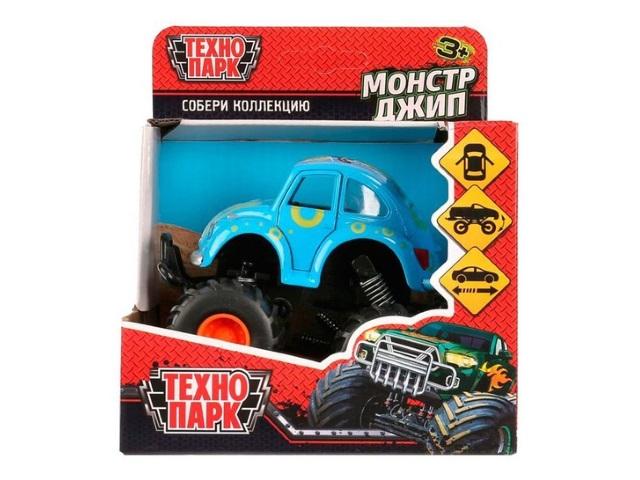 Машина металл Технопарк Монстр Джип синий 11.5см W7733-144-BU
