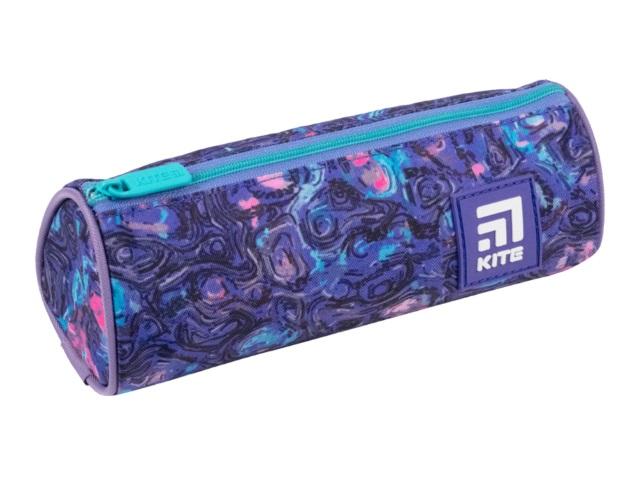 Пенал-тубус текстиль Kite сиреневый K21-667-9