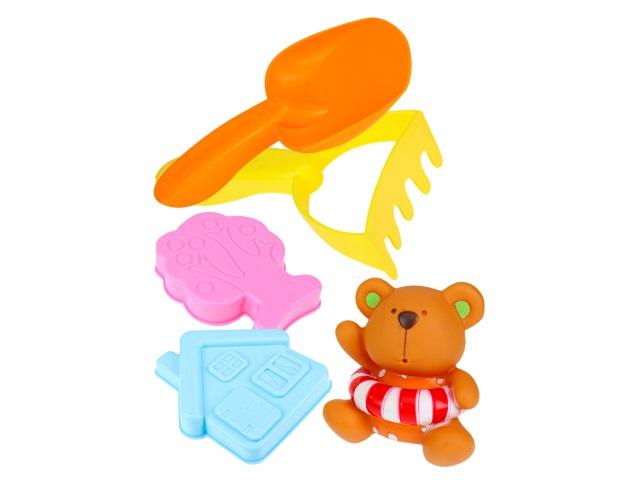 Песочный набор  7 предметов Летние забавы Пляжный- 6 И-8333