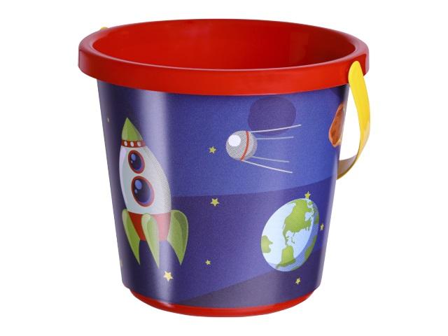 Ведро Рыжий кот 0.85л Веселый космос ИП-0802