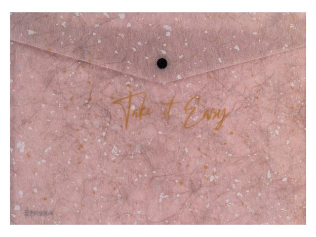Папка конверт на кнопке А5 Axent Shade сиреневая 1496-16-A