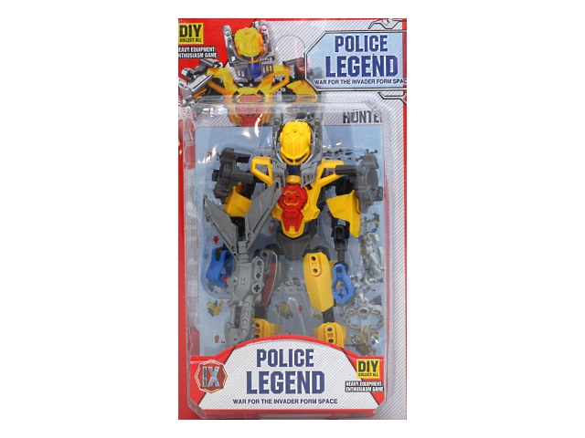 Робот на шарнирах Полицейская легенда 18см Shantou 7669