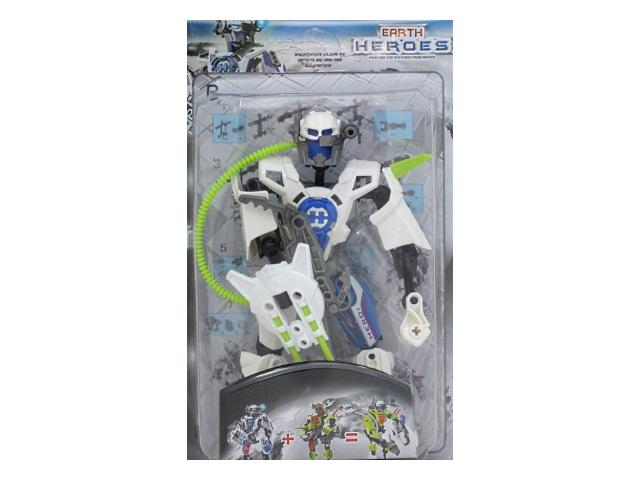 Робот на шарнирах Earth Warriors 17см Shantou 7681