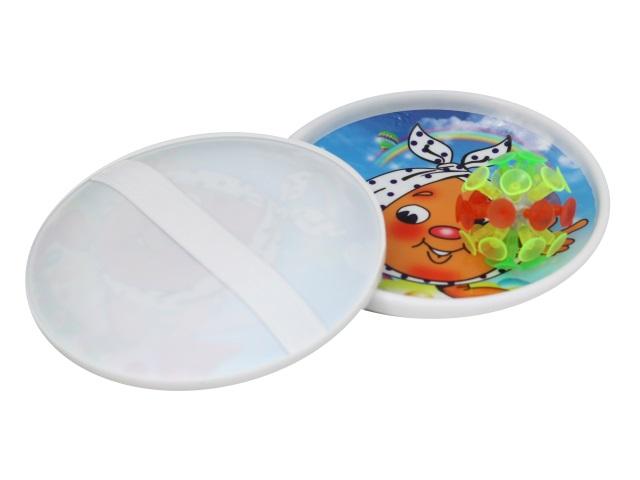 Игра Поймай мяч Тарелки + шарик со светом на присосках GP002P