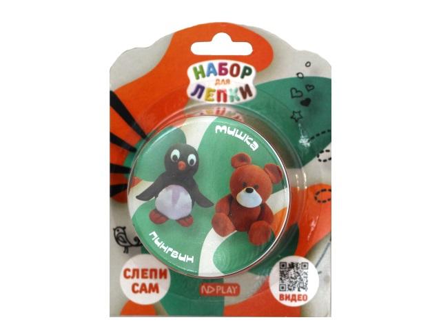 Набор для лепки NDPlay Пингвин и Мишка NDC-013