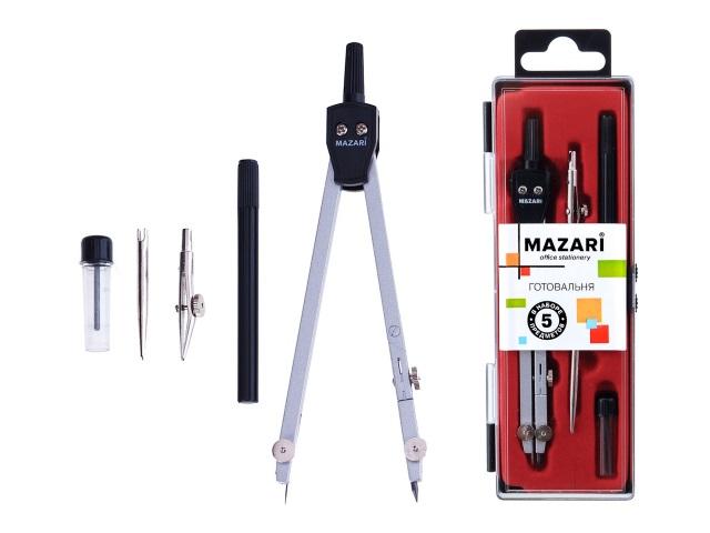 Готовальня  5 предметов Mazari M-4505