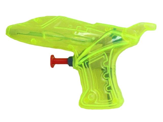Водяной пистолет 11см Рыжий кот Неон цветной 1992249