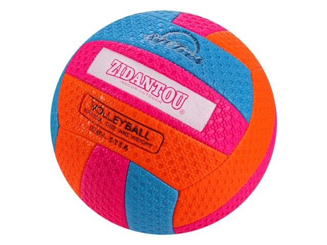 Мяч волейбольный цветной Рыжий кот AN01110