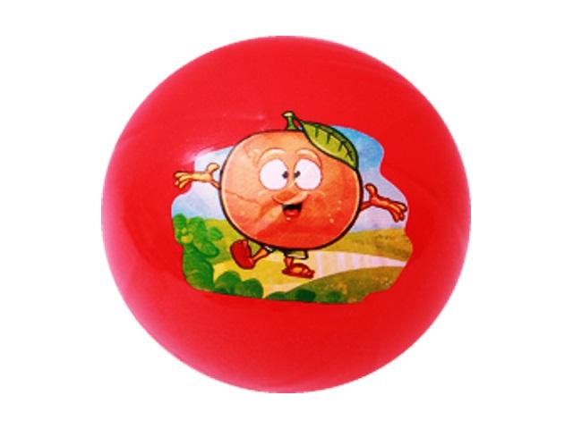 Мяч 16 см Рыжий кот Веселый апельсин МЧ-7032