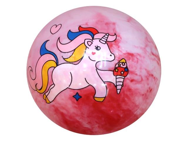 Мяч 25 см Рыжий кот Единорог AN01745