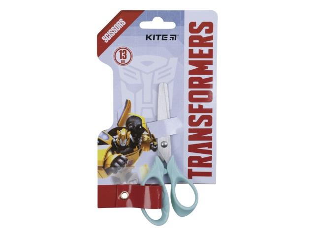 Ножницы детские 13 см Kite Transformers пластиковые ручки TF21-122