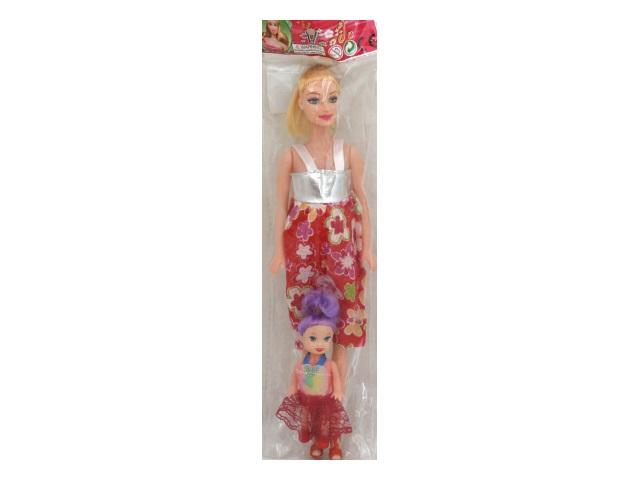 Кукла Беременная 28см Дружная семья с малышкой Рыжий кот 1290886