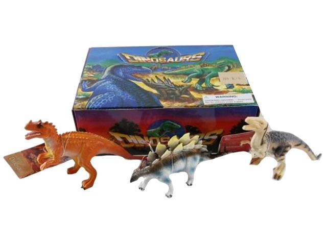 Динозавр 10см Animal World микс 1455771