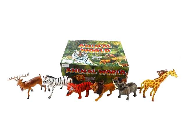 Животные 10см Animal World микс 1455777