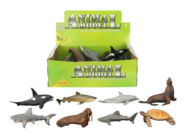 Животные Жители подводного мира 9-13см Animal Model микс 1704094