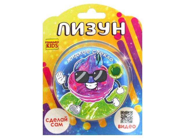 Набор для опытов Галилео Kids Лизун Жидкое стекло Зеленое яблоко GK003g