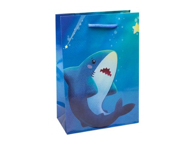 Пакет подарочный бумажный 14*20*6.5см Miland Морской мир ПКП-3531