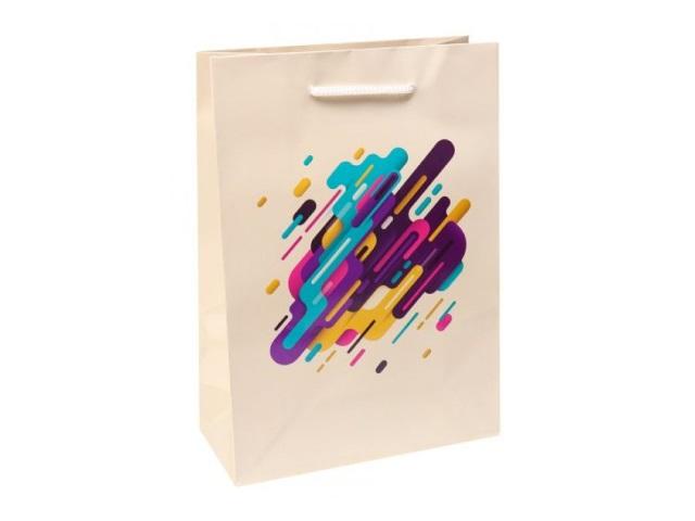 Пакет подарочный бумажный 26.4*32.7*13.6см Miland Креативное решение ПКП-3583