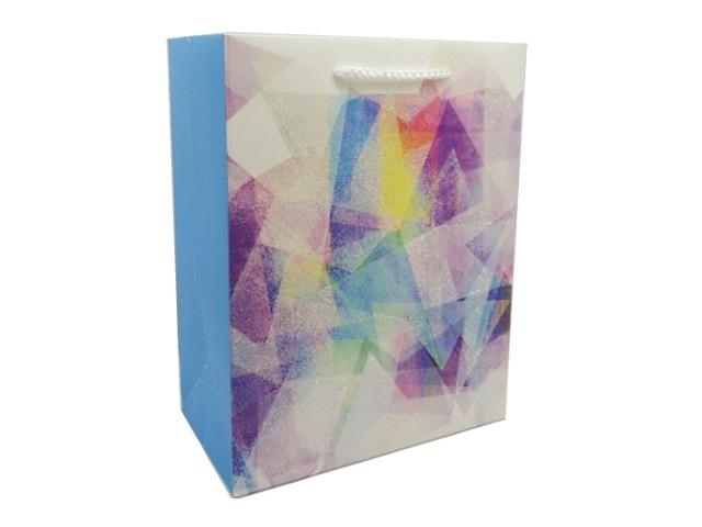 Пакет подарочный бумажный 31*42*12см Miland Красивая абстракция ППД-9653