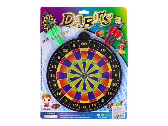 Дартс магнитный d=30см 6 дротиков Точно в цель №5 1792109