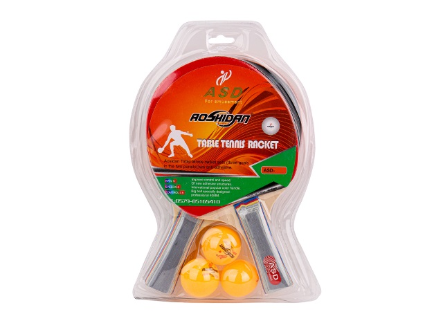 Теннисный набор 2 ракетки 3 шарика AN01003