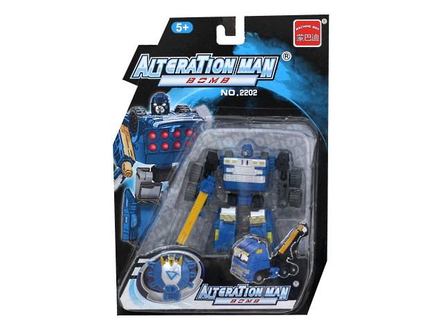 Трансформер Alteration Man 12см ZY117648