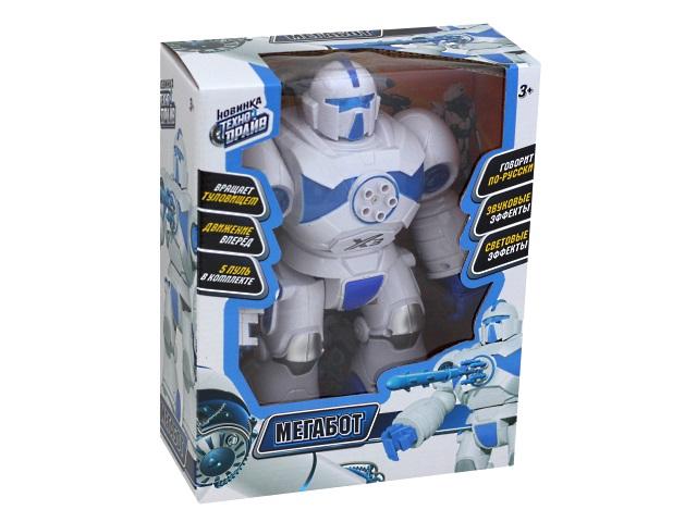 Робот на батарейках Технодрайв Мегабот 26см 1801B082-R1