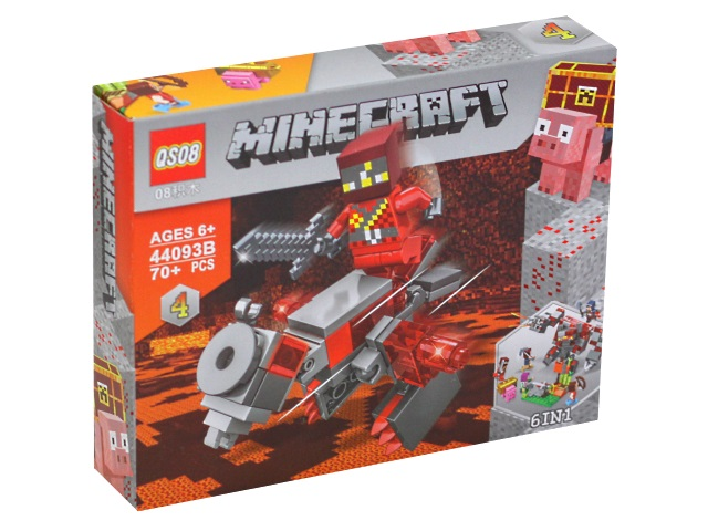 Конструктор  72 детали Minecraft Фигурки из кубиков KNS983