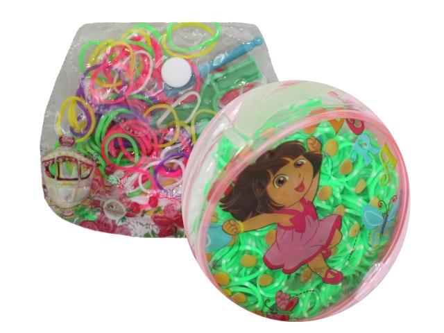 Резинки для плетения фенечек в сумочке RV917