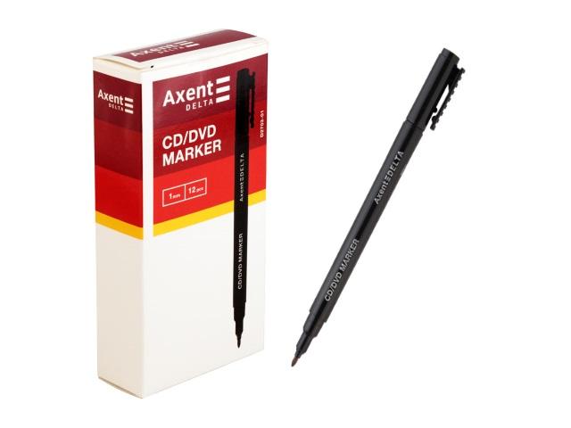 Маркер для дисков Axent круглый черный 1мм D2703-01